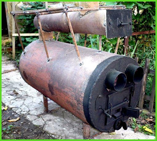 Ракетная печь из профильной трубы своими руками: варианты изготовления 6