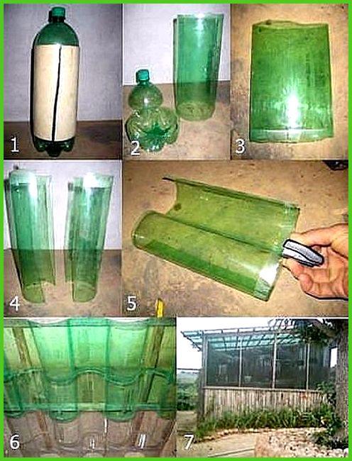 Парники из пластиковых бутылок