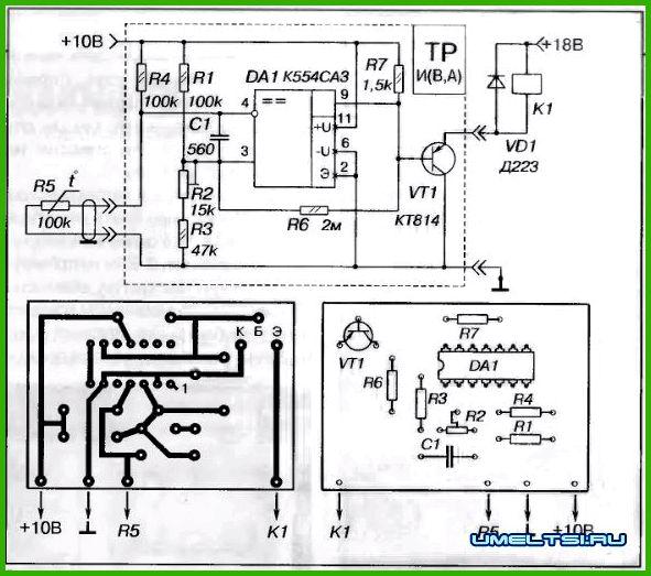 Терморегуляторы для теплиц своими руками